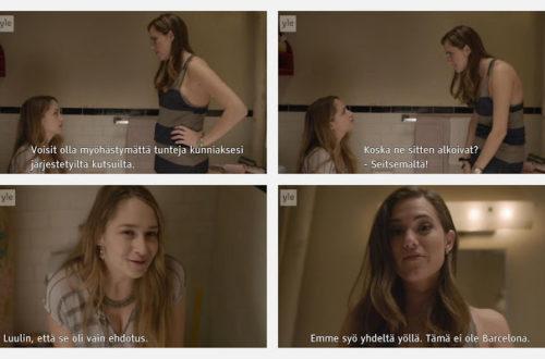 Girls-tv-sarja, Barcelona-kohtaus